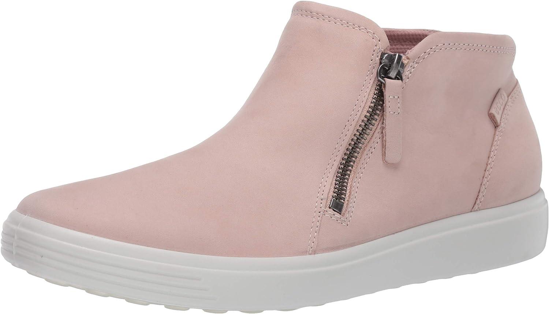 ECCO Women's Soft 7 Zip Bootie Sneaker