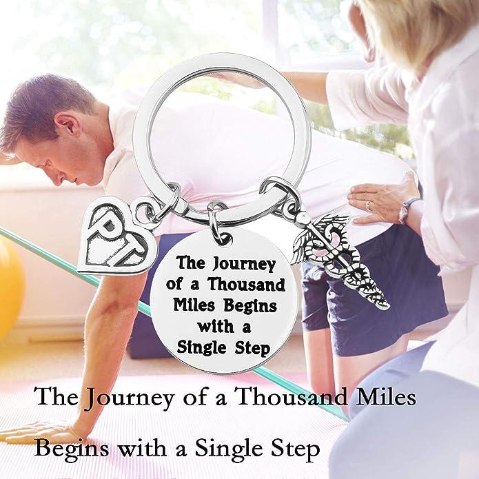 Amazon.com: TGBJE Llavero de terapia física, un viaje de ...