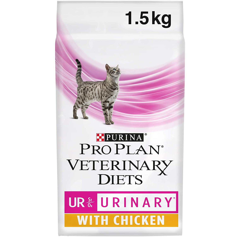 Purina Pro Plan Vet Feline Ur Pollo 4X1.5Kg, 1.5kg: Amazon ...