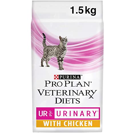 Purina Pro Plan Vet Feline Ur Pollo 4X1.5Kg, 1.5kg: Amazon ...