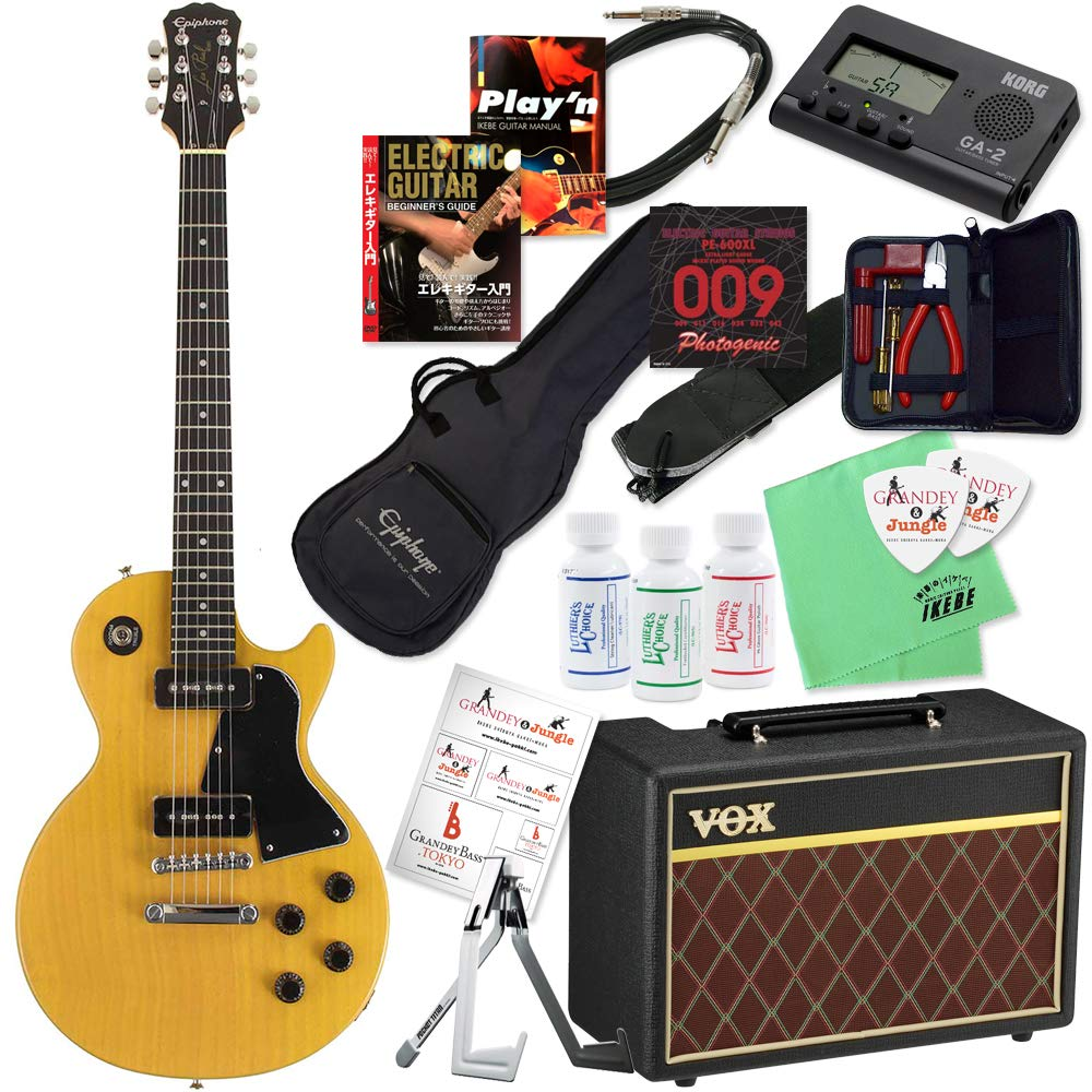 驚きの値段で Epiphone エピフォン エレキギター Limited B07P9XB3SJ Edition Les Cutaway Paul Special Single エレキギター Cutaway [Bolt-on] (TV Yellow)【レスポール&VOXアンプ20点入門セット】 TV Yellow B07P9XB3SJ, ギターパンダのお名前シール工房:f1ec4adc --- suprjadki.eu