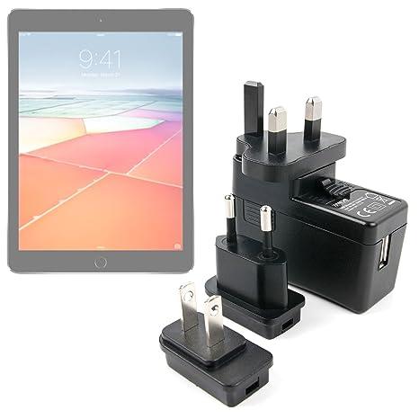 DURAGADGET Kit De Adaptadores con Cargador para Apple iPad ...