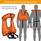 OMOUBOI Snorkel Vest Inflatable with Crotch Strap