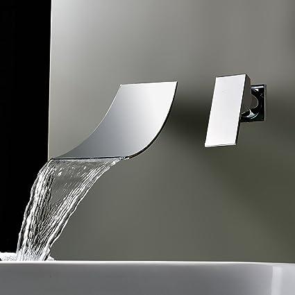 Rubinetti miscelatori per vasca da bagno, lavabo e doccia, a cascata ...