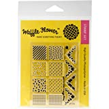 "Waffle Flower Crafts"" Mini Patterns Clear"