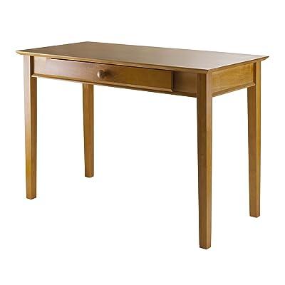 Winsome Wood Computer Desk, Honey