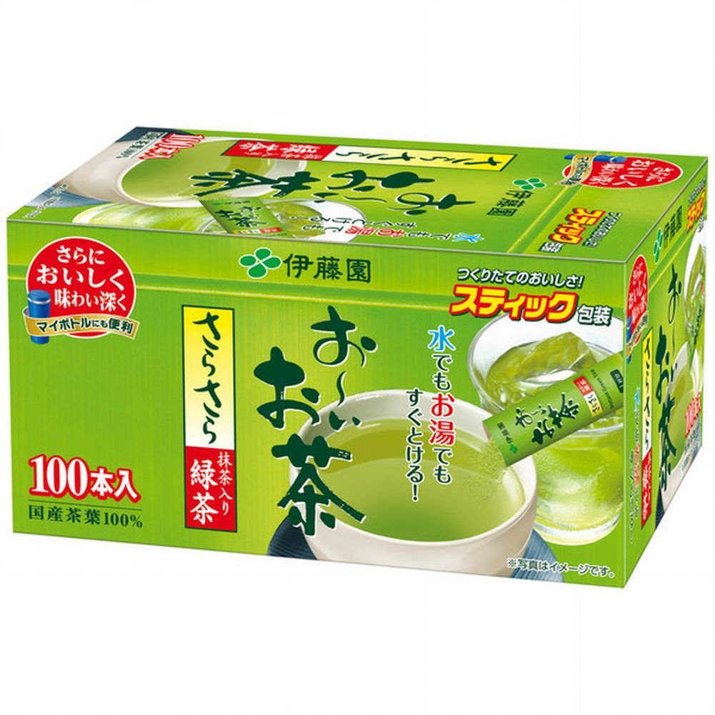ITOEN green tea stick 100 pieces Japan