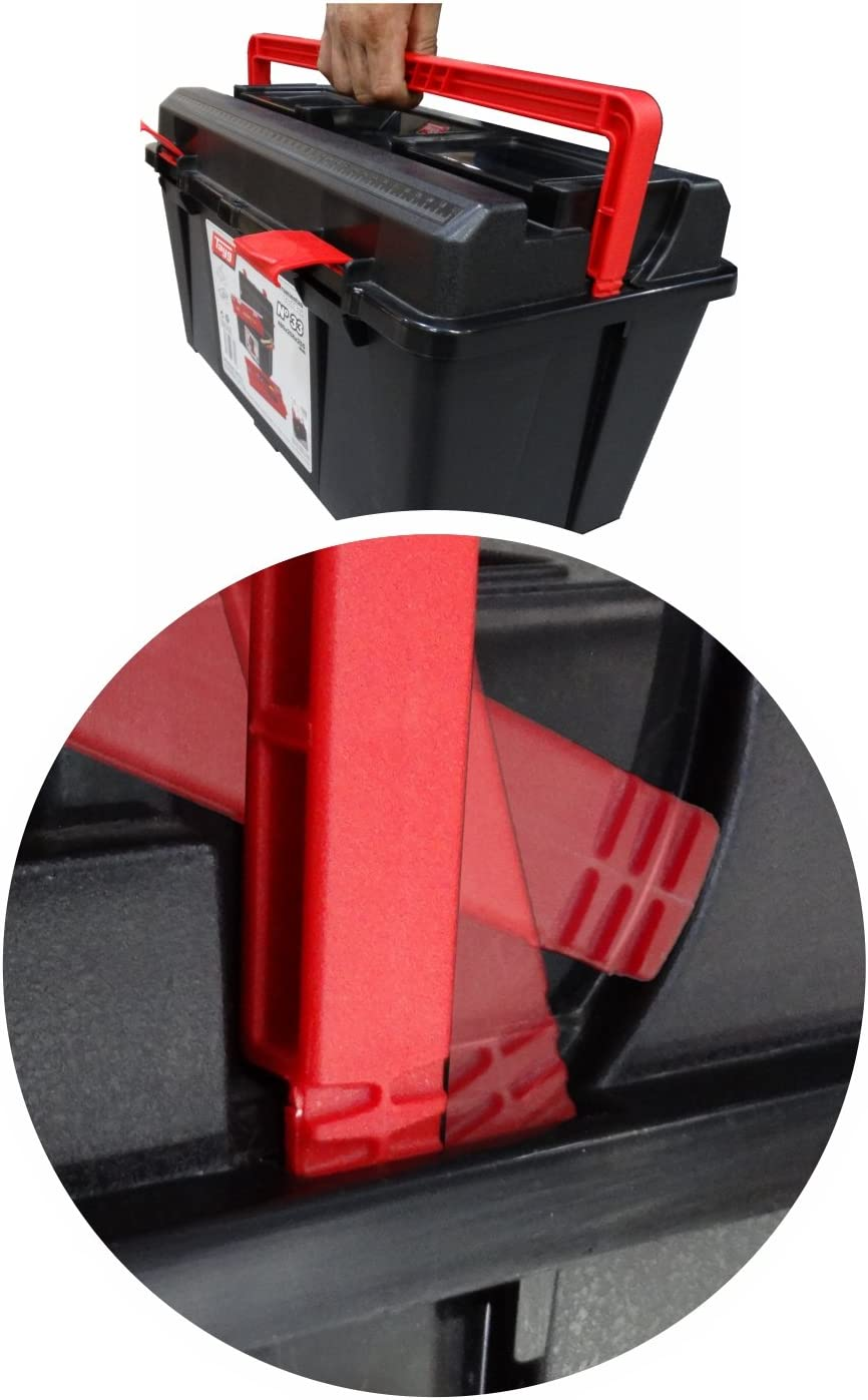 Raaco Germany Handelsgesellschaft mbH Tool Box 235 x 445 x 230 mm with Tool Tray Polypropylene