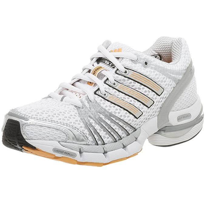 Adidas Women's Adistar Cushion 6 Running Shoe,WhiteMetsil