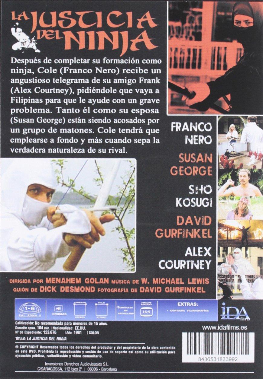 La Justicia del Ninja [DVD]: Amazon.es: Varios: Cine y Series TV