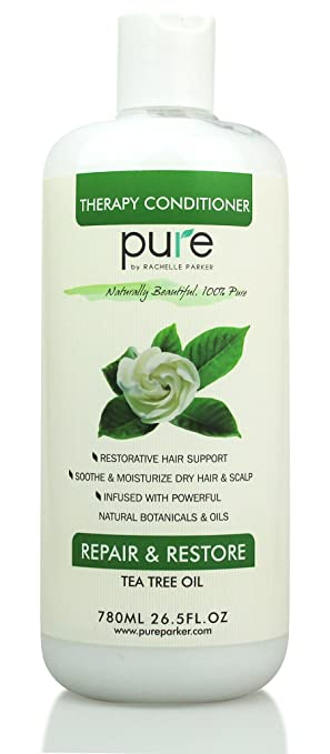PURE Tea Tree Oil Moisturizing Hair Conditioner 26 5 oz Sulfate & Paraben  Free  All Hair