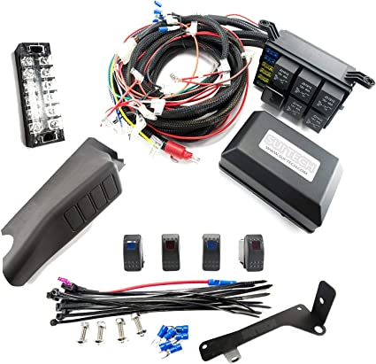 Relay Control Box for Jeep Wrangler JK - Electronic 6 Relay System on jeep tj starter wiring, jeep tj rocker switches, jeep tj door switch wiring, jeep tj light switch wiring, jeep tj battery wiring,