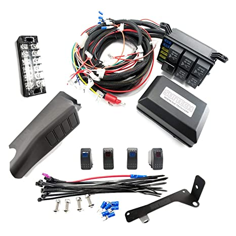 Relay Control Box for Jeep Wrangler JK - Electronic 6 Relay System on
