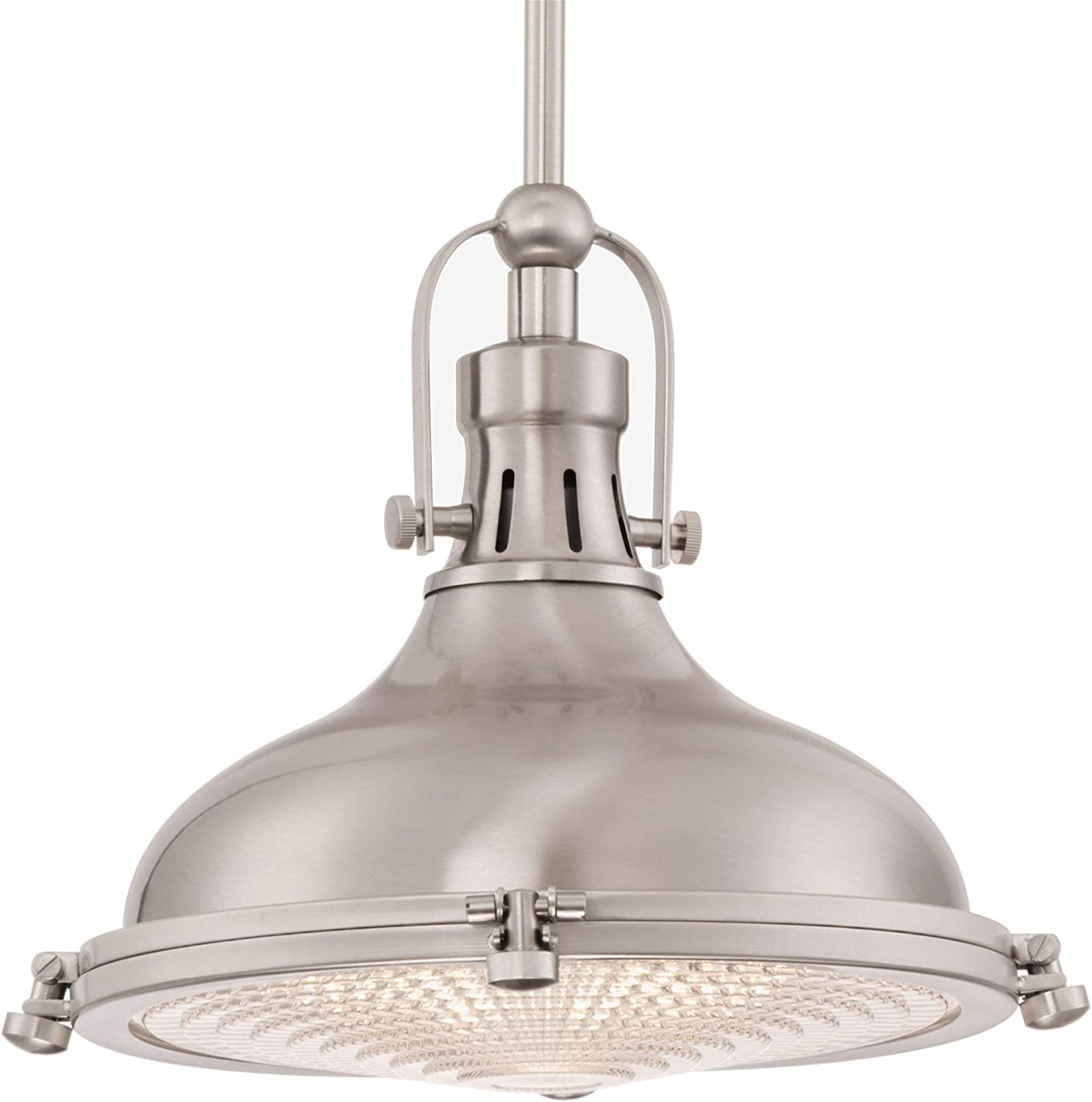 LALUZ Farmhouse Chandeliers for Dining Rooms Rustic Wagon Wheel Candle Light Fixture