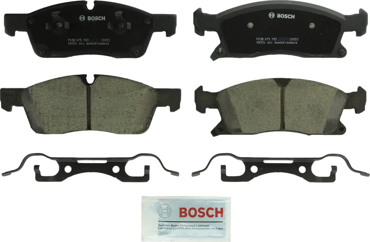 2015 For Mercedes Benz ML400 Front Semi Metallic Brake Pads