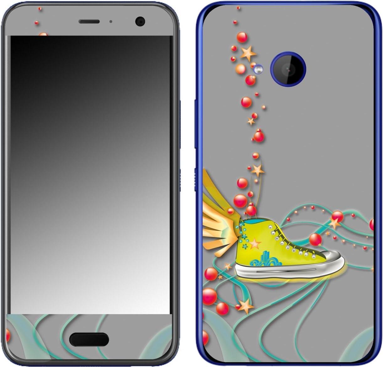 DISAGU SF de 108506 _ 463 Diseño Skin para HTC U11 Life – Diseño Chuck Taylor – Yellow: Amazon.es: Electrónica