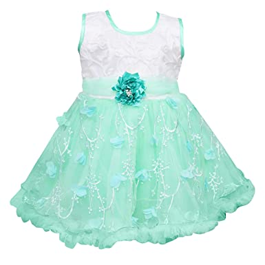 a95901c569f5 Wish Karo Baby Girls Frock Dress DN - (fe2172)  Amazon.in  Clothing ...