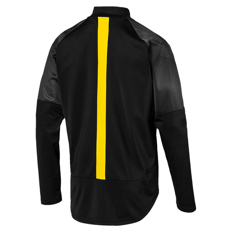 691523317c7de Amazon.com : PUMA 2018-2019 Borussia Dortmund Stadium Jacket (Black ...