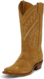 product image for Tony Lama Men's Bingham Suede Western Boot Square Toe