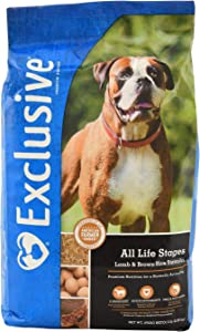 Exclusive | Dog Food for All Life Stages | Lamb and Brown Rice Recipe | Nutritionally Complete - 5 Pound (5 lb) Bag