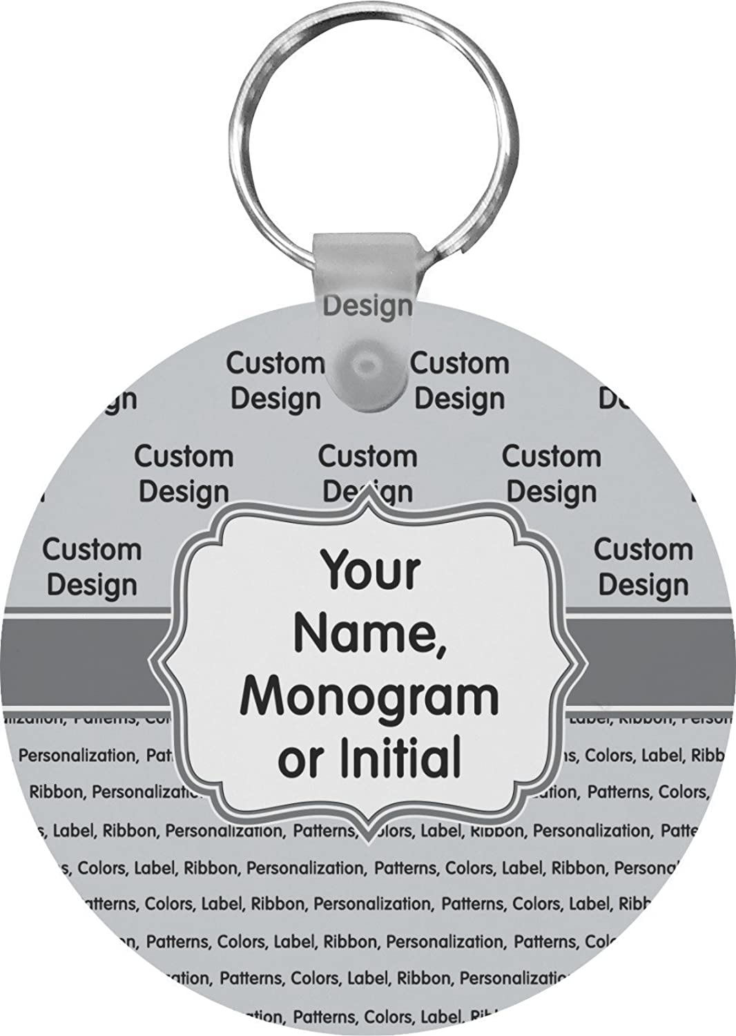 Custom Round Keychain (Personalized)