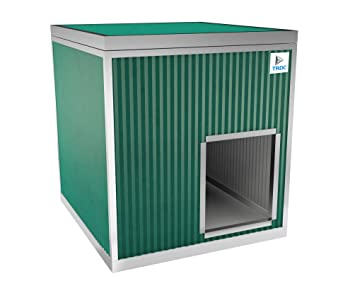 TRDC Caseta Aislante para Perros XXL para el Exterior (Smeraldo): Amazon.es: Productos para mascotas