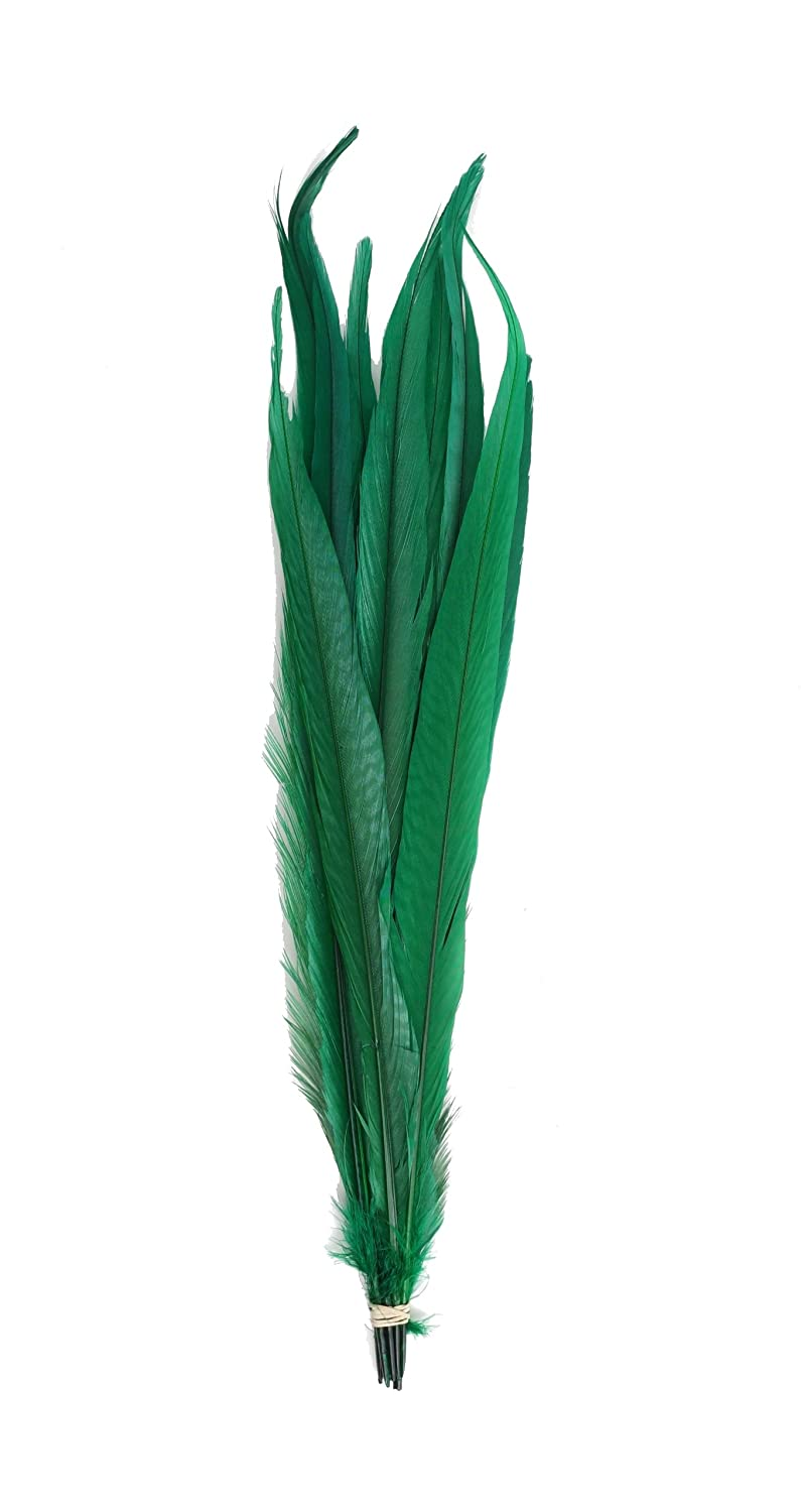 Kelly Zucker Feather Products B572B////K Zucker Feather - Pheasant Tails Assorted Bleached TM