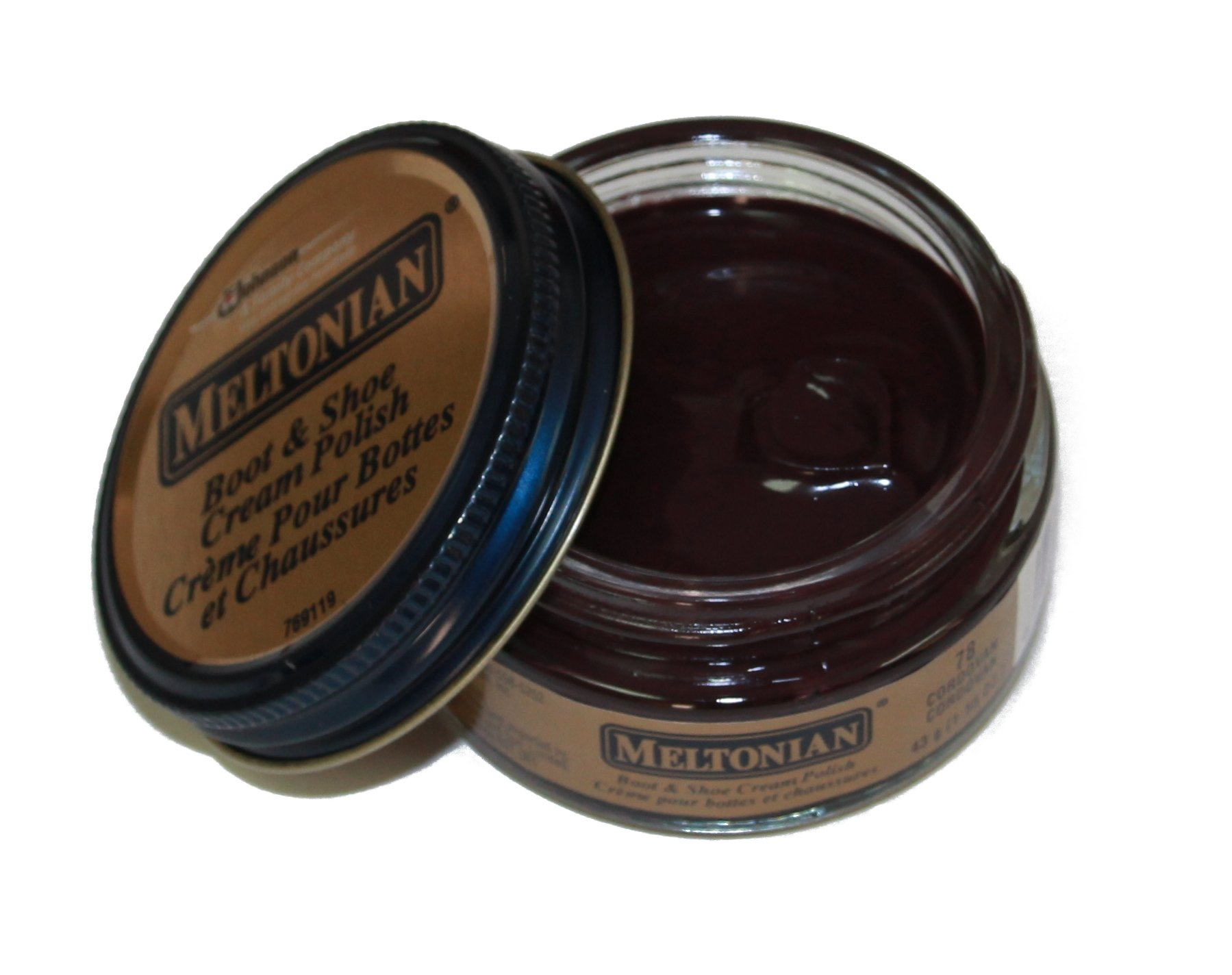 Meltonian Shoe Cream-Cordovan-078