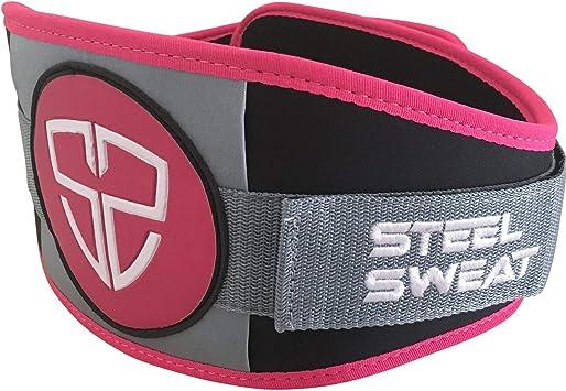 Weight Lifting Belt Gym Back Support Power Training Lower Lumbar Pain Wide B