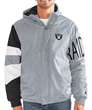 Starter Oakland Raiders NFL para Hombre Albañilería Full Zip ...