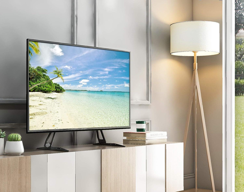 FITUEYES Pies de TV de 27 a 60 Pulgadas hasta 50 kg Patas TV Universal Inclinable y Altura Ajustable MAX VESA 800 x 400 mm: Amazon.es: Electrónica