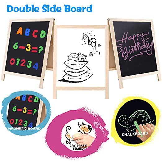 Amazon.com: GINMIC Magnetic Letters and Numbers with Easel ...