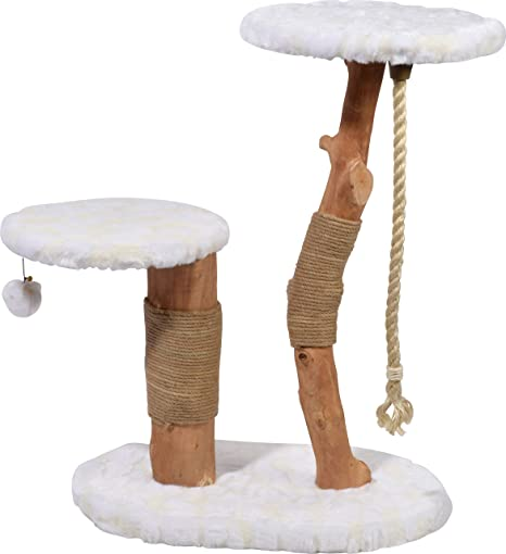Árbol rascador de diseño con Troncos Naturales, Columna rascador ...