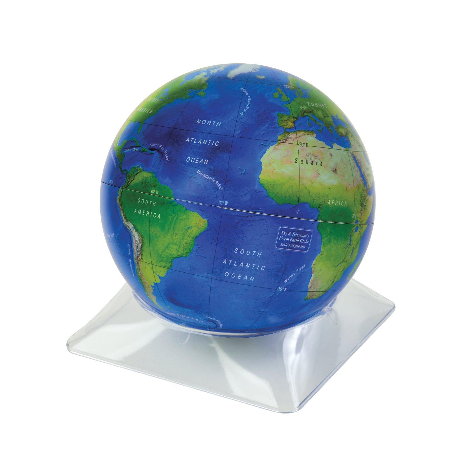 Download Sky & Telescope's 15-cm Earth Globe PDF