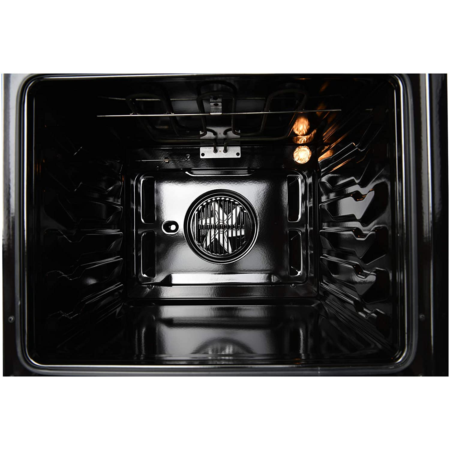 Digital Display Touch Controls KUPPET 24 Electric Single Wall Oven with 10 Functions Built-In or Under-Counter Faster Cooking Convection E750100-H1/ Tempered Glass