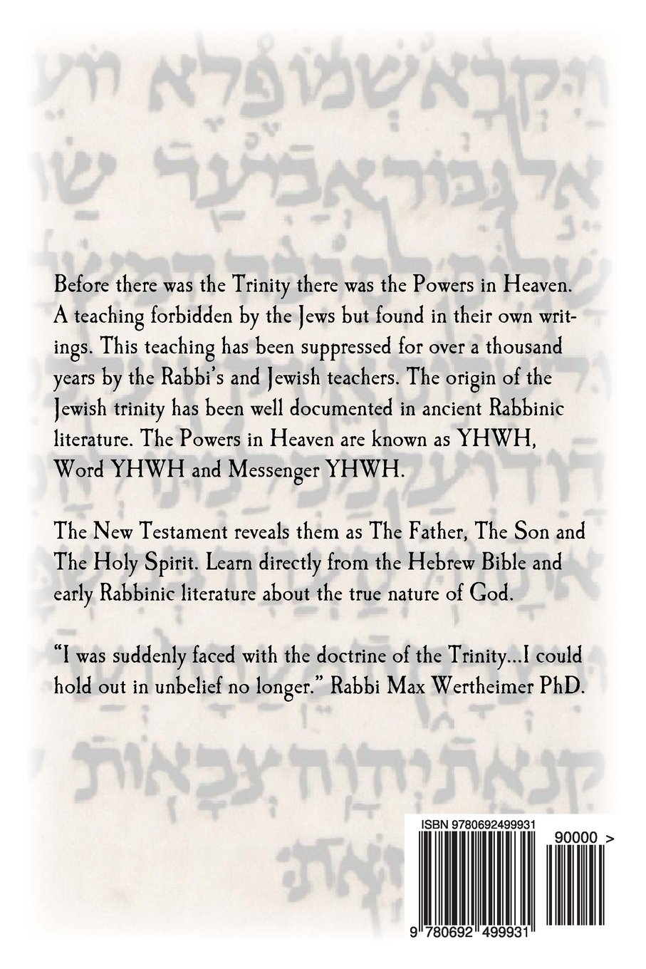 From yhwh to elohim to messiah the jewish origin to the trinity dr from yhwh to elohim to messiah the jewish origin to the trinity dr al garza a g shlomo phd sefer press rabbi tzvi nassi 9780692499931 amazon fandeluxe Images