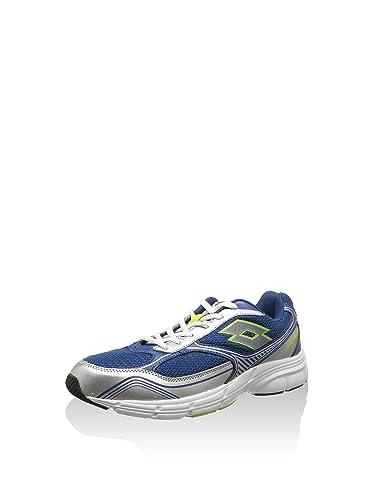Lotto Sport Sneaker Antares VII Blu Argentato EU 42 (US 9)  Amazon ... 89a315d95b3