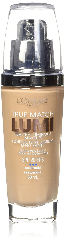 Amazon.com: L'Oréal Paris True Match Lumi Healthy Luminous Makeup, C4 Shell Beige, 1 fl. oz.: Beauty
