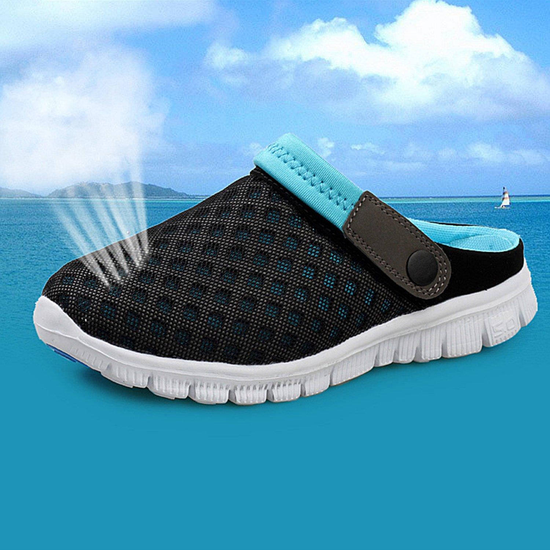 SAGUARO Kids Hiking Climbing Sneakers Toddler Aqua Water Shoes Boys Mesh Sandals