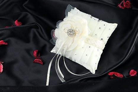 Cojin de boda para anillos: Amazon.es: Hogar