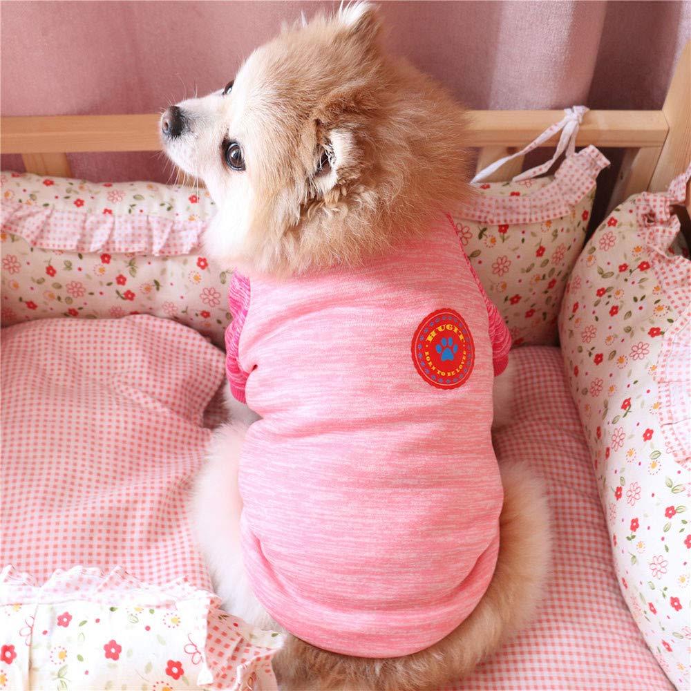 Ropa para Mascotas,Gusspower Sudadera Rayas Moda Mascotas Perros Gatos Caliente Lana Su/éter Abrigos de Invierno