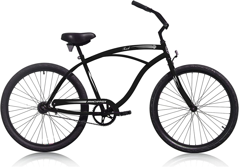 Micargi 26 Inch Beach Cruiser Bike Adult Cruiser Bicycle Shimano 1 SP Coaster Brake