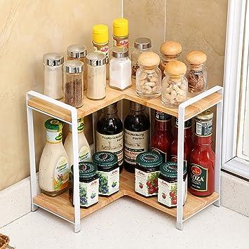 Gewürzregal Küche | Gewurzregal Kuche Regal Holz Wooden Boden Konditionierung Gewurz