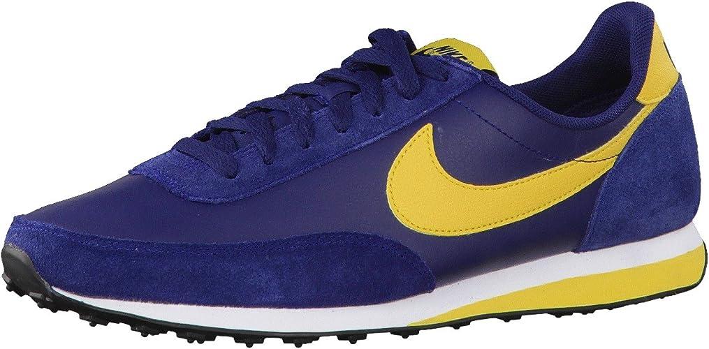 444337 401 Nike Elite Leather SI Blue
