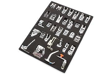 17 Sätze Nähfüsse Industrielle Nähmaschine Nähfüße Nähfuß Flachnähmaschinen+Box