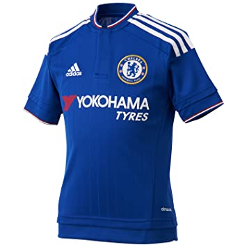 adidas Men's Chelsea FC Home Jersey - Blue/White/Power Red, Small