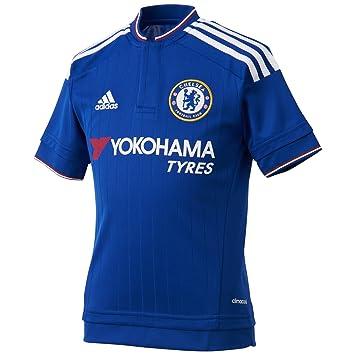 1ª Equipación - Chelsea 2015 2016 - Camiseta oficial adidas  adidas   Amazon.es  Deportes y aire libre 5faadb811f5f1