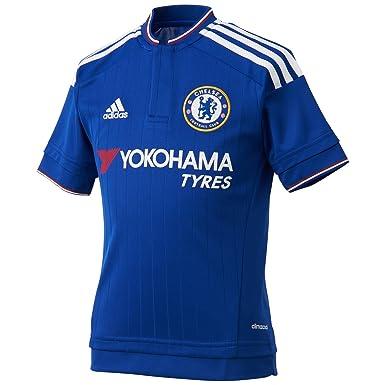 promo code d6f2b 13069 adidas Heimtrikot Replica Men's FC Home Jersey-Chelsea Blue/White/Power  Red, Medium