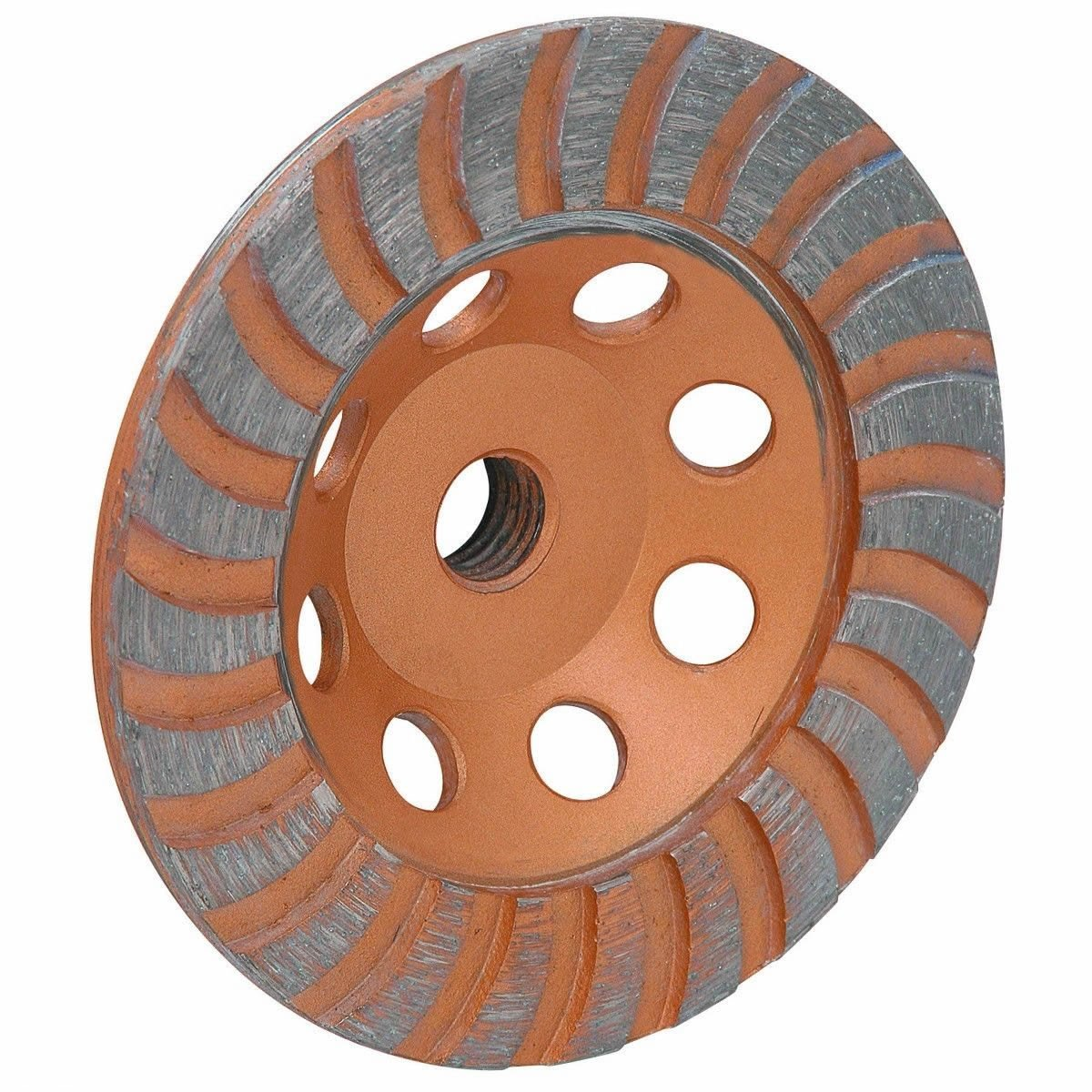 4 1/2'' Inch Diamond Cup Grinding Grinder Wheel For Stone Concrete Surfacing by Generic