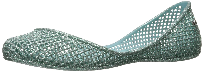 Zaxy Women's Amora Ballet Flat B01LYOBY6T 6 B(M) US Green